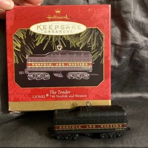 Hallmark Ornament Tender - Lionel 746 Norfolk